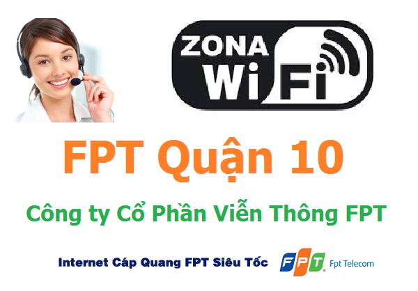 Lắp đặt internet FPT quận 10 TPHCM khuyến mãi Lớn