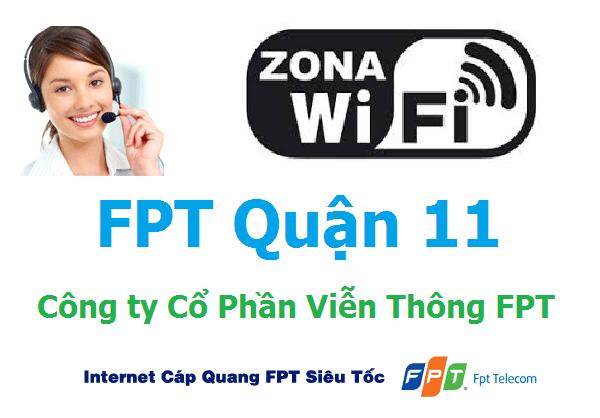 Lắp đặt mạng FPT quận 11 TPHCM siêu ưu đãi