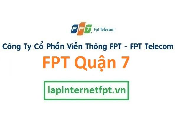 Lắp đặt mạng FPT quận 7