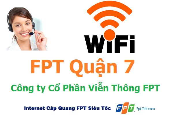 Lắp đặt mạng FPT quận 7 TPHCM khuyến mãi hấp dẫn