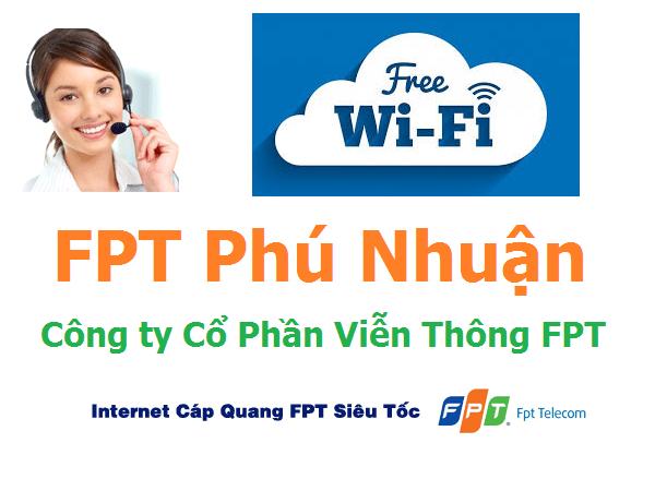 Lắp đặt mạng internet FPT quận Phú Nhuận TPHCM siêu ưu đãi
