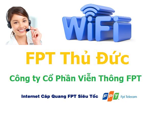 Lắp đặt internet FPT quận Thủ Đức TPHCM khuyến mãi hấp dẫn