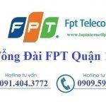 Lắp Đặt Mạng FPT Quận 12 Tại Thành Phố Hồ Chí Minh