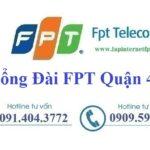 Lắp Đặt Mạng FPT Quận 4 Tại Thành Phố Hồ Chí Minh