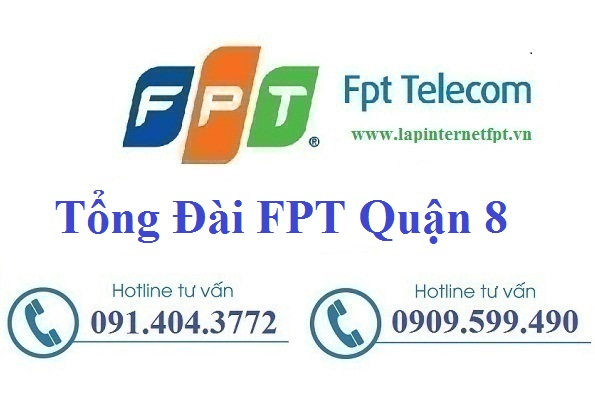 Lắp Đặt Mạng FPT Quận 8 Tại Thành Phố Hồ Chí Minh