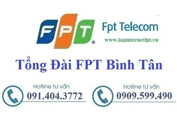 Tổng Đài FPT Quận Bình Tân