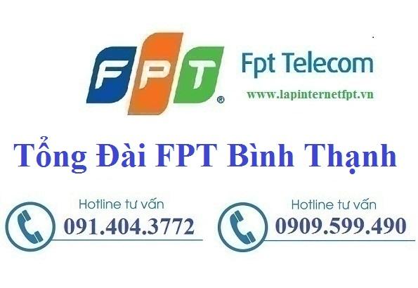 Đăng ký cáp quang FPT Quận Bình Thạnh