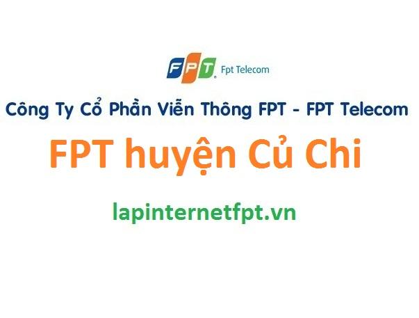 Lắp đặt mạng internet FPT huyện Củ Chi