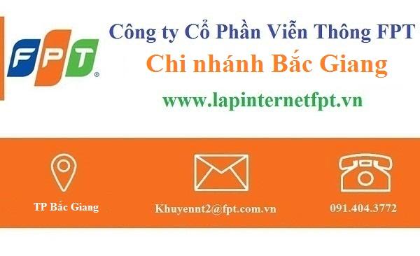 Lắp đặt mạng FPT Bắc Giang