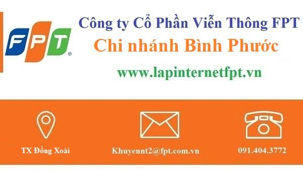 Lắp đặt internet FPT Bình Phước