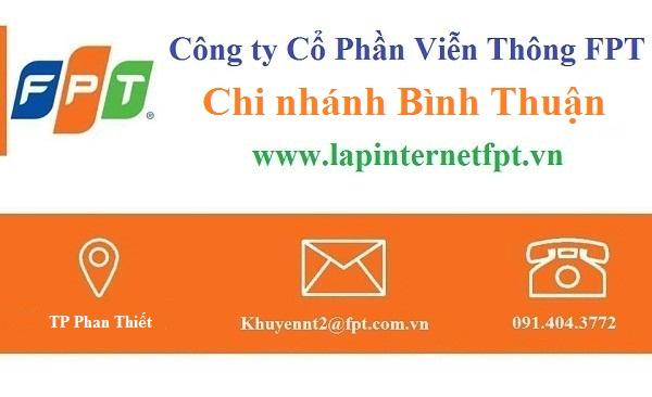 Lắp internet FPT Bình Thuận