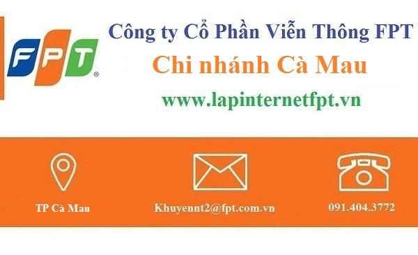 Lắp đặt internet FPT Cà Mau