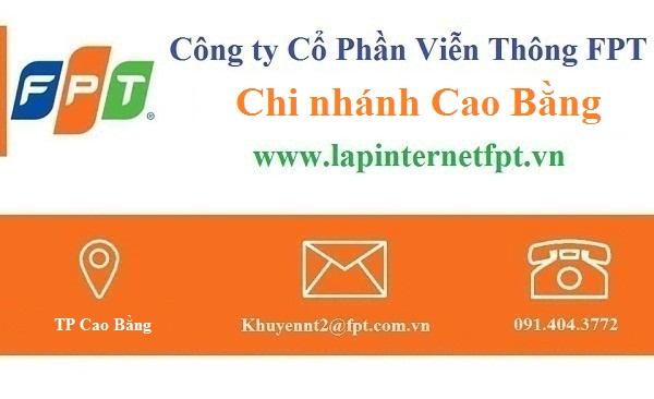 Lắp đặt internet FPT Cao Bằng