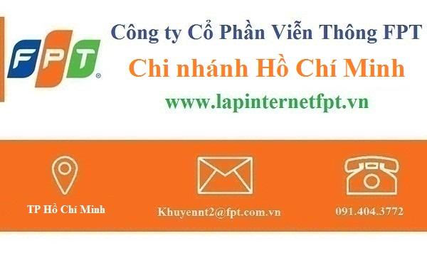 Lắp đặt internet FPT Hồ Chí Minh năm 2017 - 2018