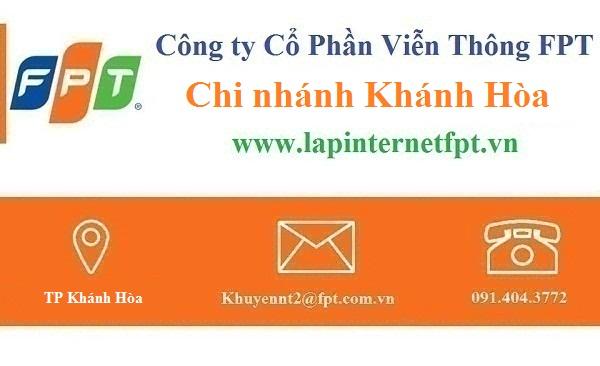 Khuyến mãi Lắp đặt internet FPT Khánh Hòa