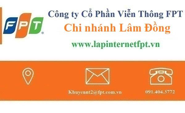 Lắp đặt mạng FPT Lâm Đồng