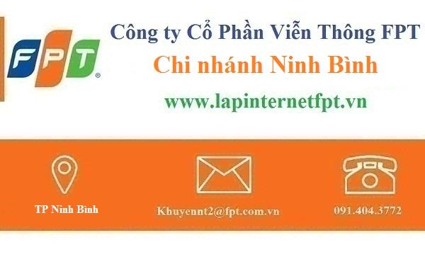 Lắp đặt mạng FPT Ninh Bình