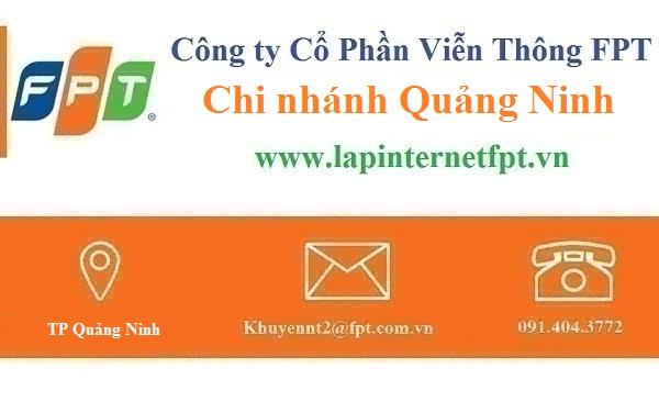 Lắp đặt mạng FPT Quảng Ninh