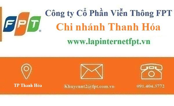 Lắp đặt internet FPT Thanh Hoá
