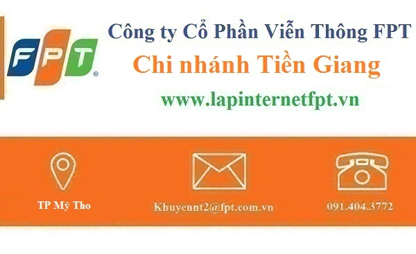 Lắp đặt internet FPT Tiền Giang