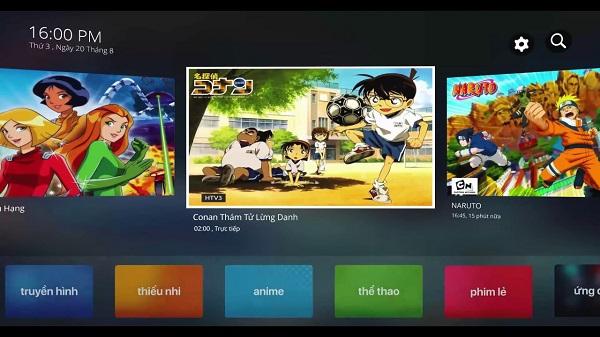 Kho Phim Anime trên FPT Play Box