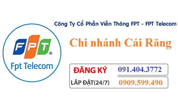 Lắp đặt internet FPT quận Cái Răng thành phố Cần Thơ