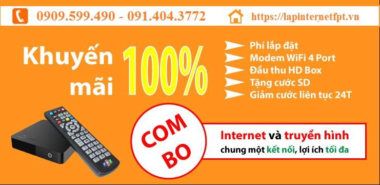 Lắp Đặt Combo internet & truyền hình FPT Diên Khánh
