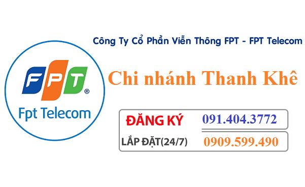 Lắp mạng internet FPT quận Thanh Khê Đà Nẵng