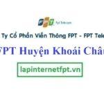 Lắp Đặt Mạng FPT Huyện Khoái Châu Tỉnh Hưng Yên