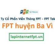 Lắp đặt internet FPT huyện Ba Vì Hà Nội giá cực sốc