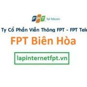 Lắp đặt internet FPT Biên Hòa Đồng Nai