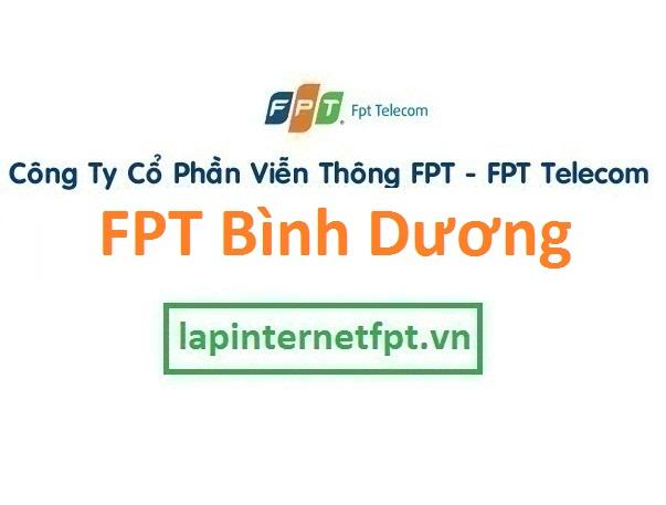 Lắp mạng internet FPT Bình Dương