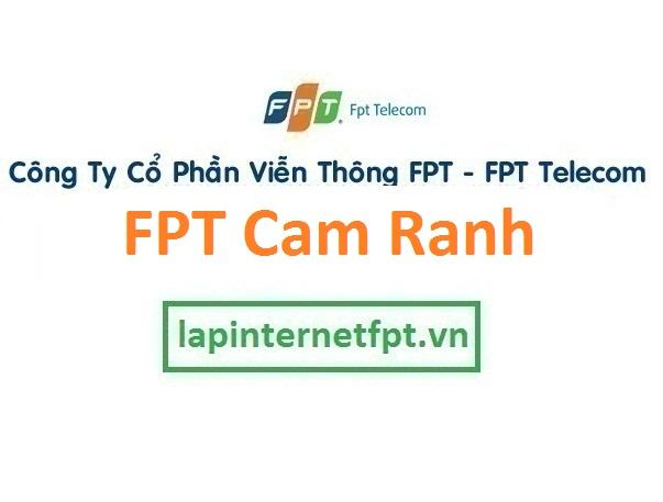Lắp đặt mạng FPT thành phố Cam Ranh Khánh Hòa