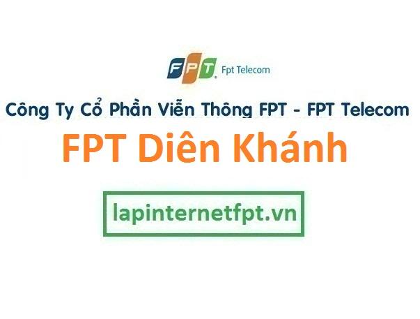 Lắp đặt mạng FPT huyện Diên Khánh tại Khánh Hòa