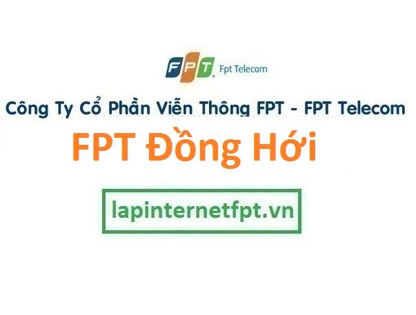 Lắp đặt internet FPT Đồng Hới Quảng Bình