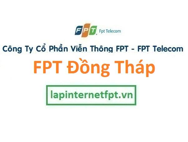 Lắp đặt internet FPT Đồng Tháp