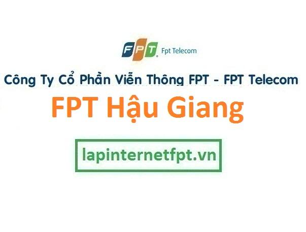 Lắp đặt mạng internet fpt Hậu Giang