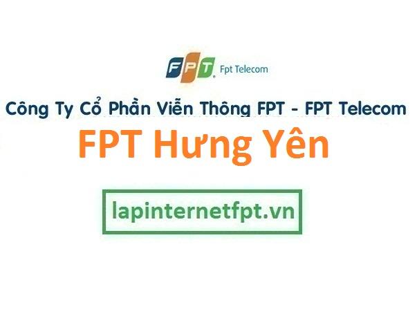 Lắp đặt internet FPT Hưng Yên
