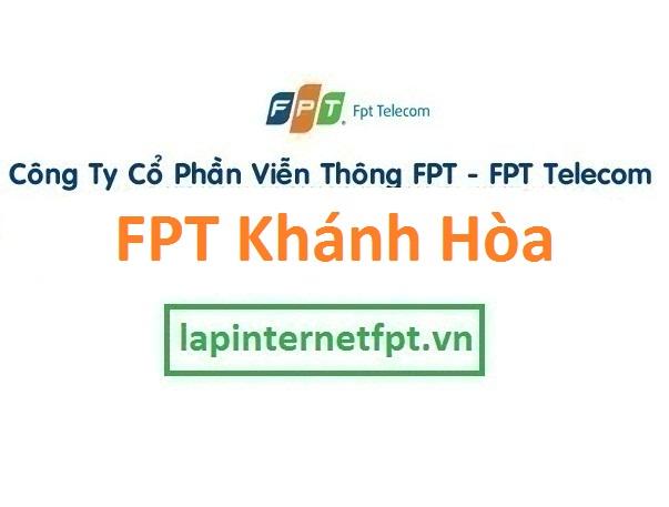 Lắp đặt internet FPT Khánh Hòa