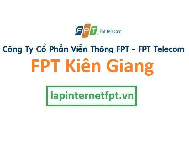 Lắp đặt internet fpt Kiên Giang