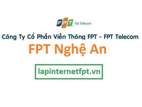 Lắp đặt mạng FPT Nghệ An