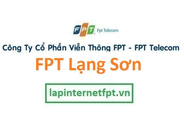 Lắp mạng cáp quang FPT Lạng Sơn