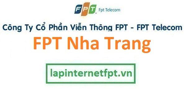 Lắp đặt internet FPT Nha Trang Khánh Hòa