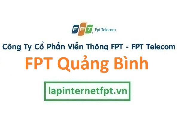 Lắp đặt internet FPT Quảng Bình