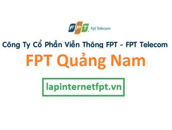 Lắp đặt mạng FPT Quảng Nam