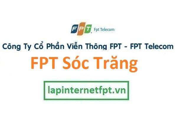 Lắp đặt internet FPT Sóc Trăng