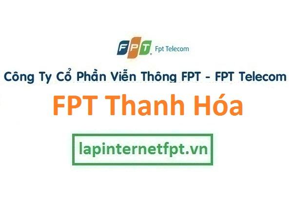 Lắp Đặt Mạng FPT Thanh Hóa