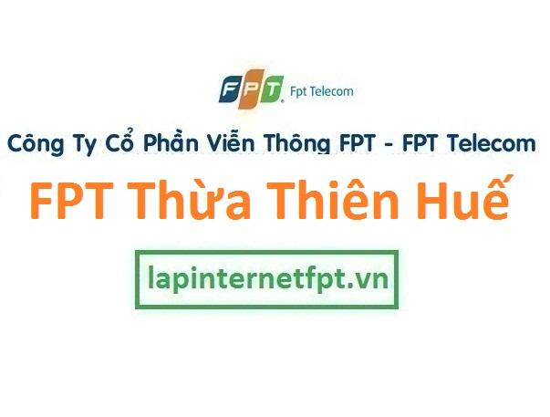 Lắp internet FPT Thừa Thiên Huế