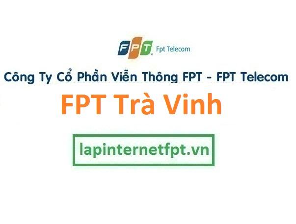 Lắp đặt mạng FPT Trà Vinh