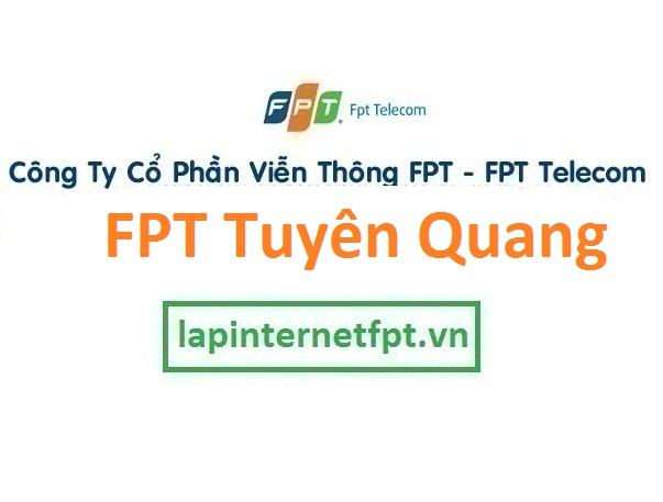 Lắp đặt internet FPT Tuyên Quang